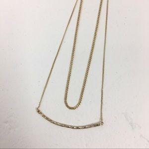 Jewelry - Gold Fashion Layered Necklace